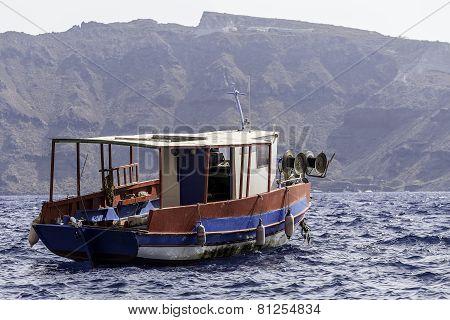 Fishing Boat Resting