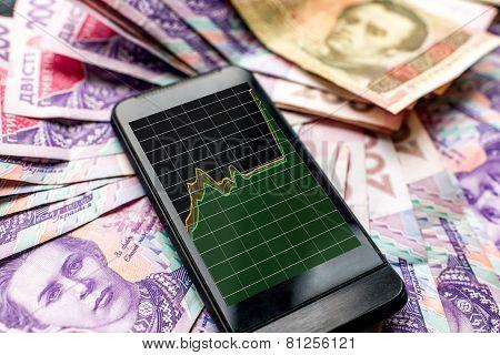 Ukrainian money devaluation