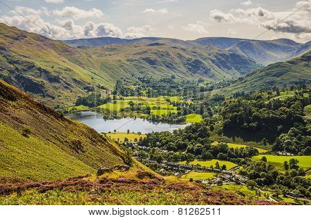 Glenridding and part of Ullswater