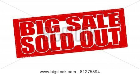 Big Sale Sold Out