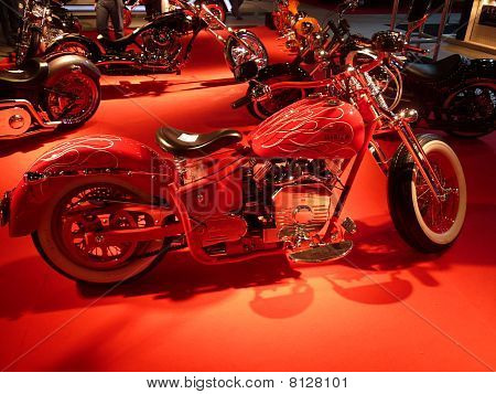 Luxury Street Motor Bike