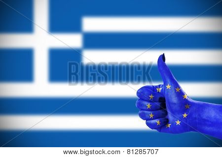 Support  For Greece
