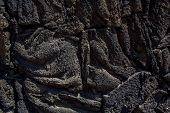 Xochimilco Lava Blocks Texture in Df Mexico poster