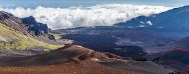 Cinder cones of Haleakala, Maui, Hawaii