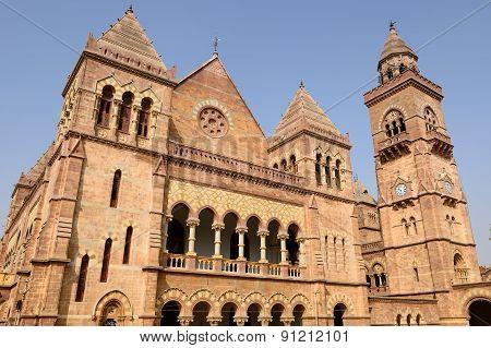 Aina Mahal Palace In Bhuj, Gujarat, India
