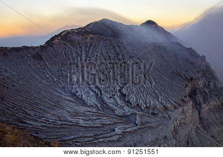 Ijen Volcano, Travel Destination In Indonesia