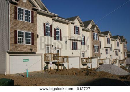 Condominiums Townhouses Under Construction