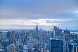 NYC at sunset