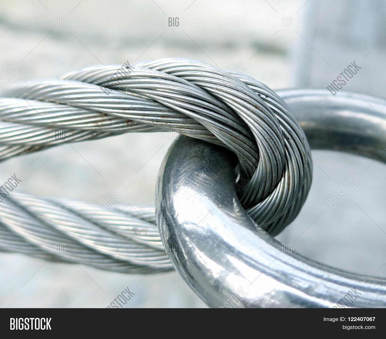 Close View Wire Rope Image & Photo (Free Trial) | Bigstock