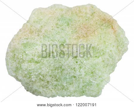 Piece Of Lavrovite Mineral Stone Isolated