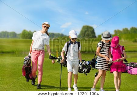 children golf school