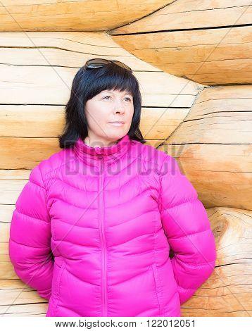 Portrait Of A Middle-aged Brunette