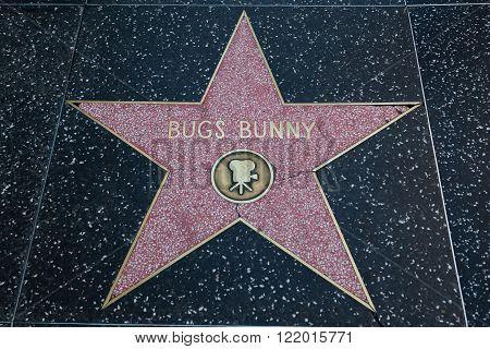 Bugs Bunny Hollywood Star