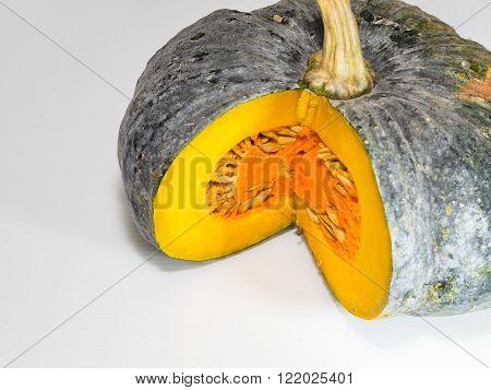 Huge Pumpkin was indented in a quarter.