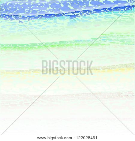 Watercolor stylized background