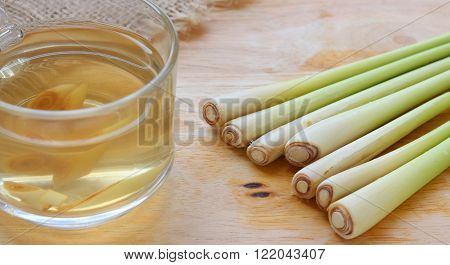 Thai Herbal Drinks, Lemon Grass Water