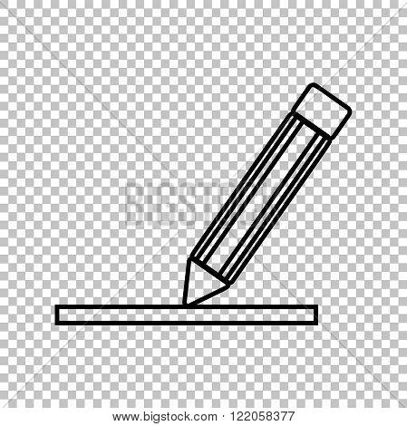 Penci line vector icon