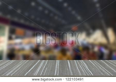 People Shopping In Fair