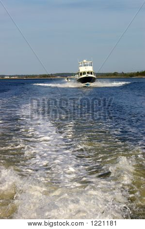 Fishing Boat Following