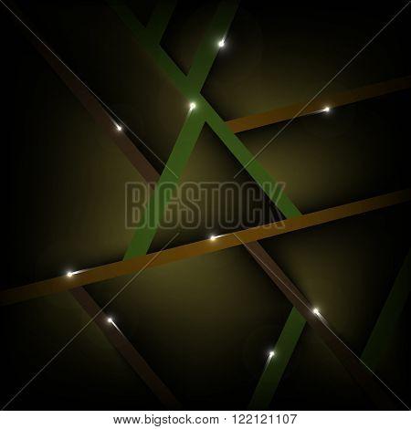 Abstract polygonal vector background. Dark  geometric vector illustration