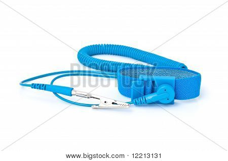 Antistatic(esd) Wrist Strap For Preventing Electrostatic Discharge On Electronic Equipment
