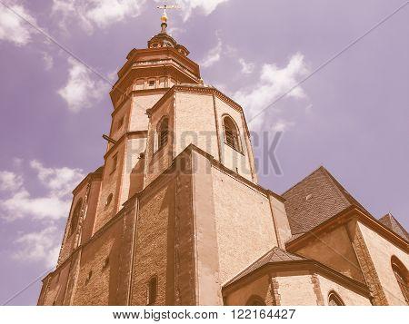 Nikolaikirche Leipzig Vintage