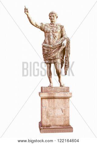 Roman Statue Vintage