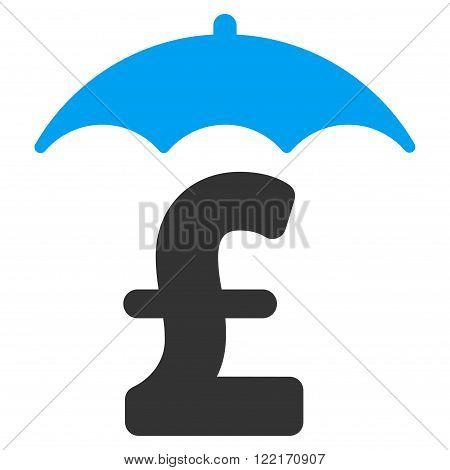 Pound Finances Roof vector icon. Pound Finances Roof icon symbol. Pound Finances Roof icon image. Pound Finances Roof icon picture. Pound Finances Roof pictogram. Flat pound finances roof icon. poster
