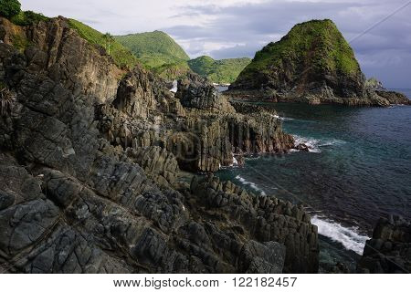 Landscape view at Pantai Semeti Lombok, Indonesia
