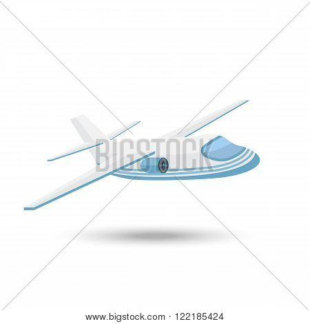 Aircraft Icon. Airplane vector icon.Aircraft  Icon vector isolated on a white background.Airplane Icon flat style with shadow.Aircraft  Icon .Airplane vector icon