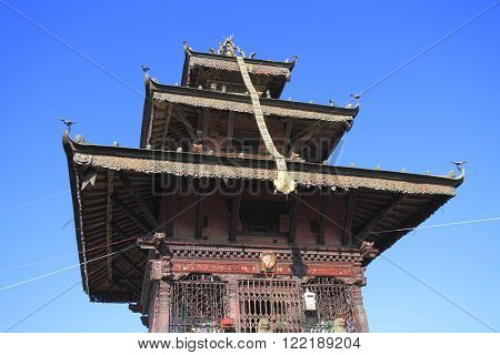 The Shree Bhagawati Temple in Dhulikhel, Nepal