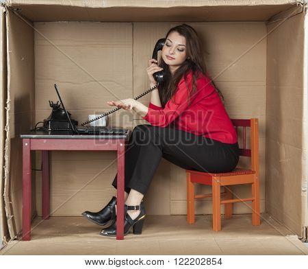 Gossip On The Company Phone