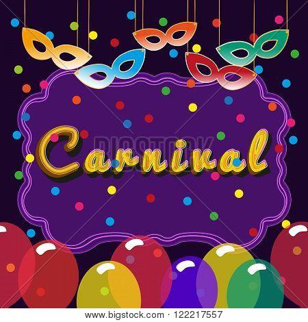 Kids Carnival Masquerade