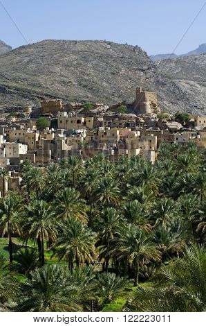 Mountain village of Misfat Al Abriyeen, Sultanate of Oman