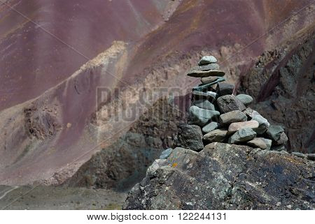 Stone man or