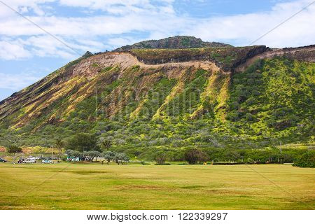 Koko Crater, Hawaii, extinct volcano north of Hanauma Bay