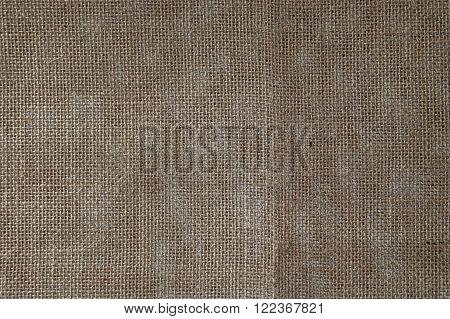 Burlap Background. Natural textured canvas,natural texture of burlap