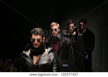 Safak Tokur Catwalk In Mercedes-benz Fashion Week Istanbul