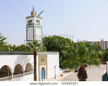 Main entrance in Bardo Museum. Tunis, Tunisia.