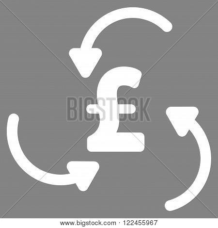 Pound Swirl vector icon. Pound Swirl icon symbol. Pound Swirl icon image. Pound Swirl icon picture. Pound Swirl pictogram. Flat pound swirl icon. Isolated pound swirl icon graphic.