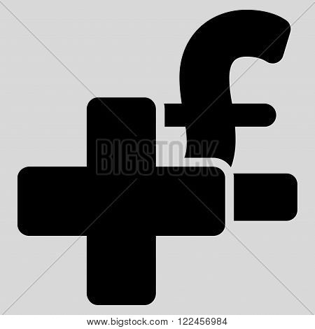 Add Pound vector icon. Add Pound icon symbol. Add Pound icon image. Add Pound icon picture. Add Pound pictogram. Flat add pound icon. Isolated add pound icon graphic. Add Pound icon illustration.
