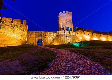 Kalemegdan fortress Beograd - Serbia - architecture travel background poster