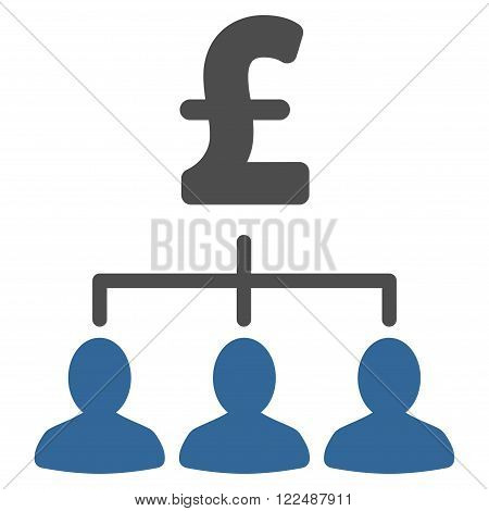 Pound Payment Relations vector icon. Pound Payment Relations icon symbol. Pound Payment Relations icon image. Pound Payment Relations icon picture. Pound Payment Relations pictogram.