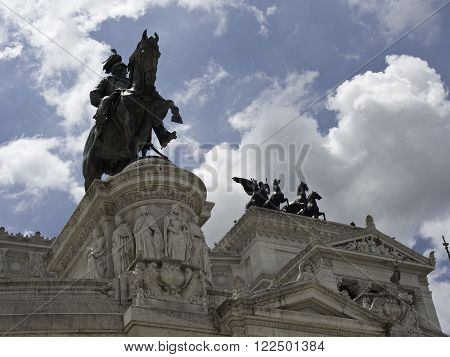 the City of rome, capital of italy
