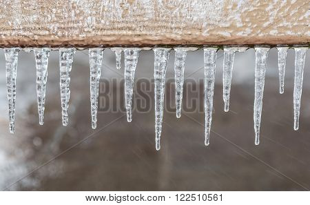 Pattern Of Ice Crystal