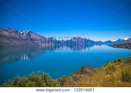 Along The Shores Of Lake Wakatipu