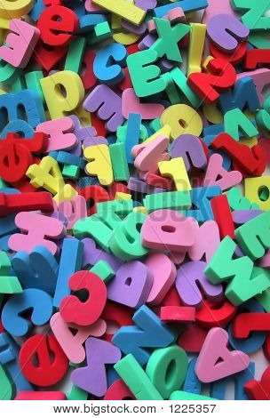 Alphanumeric Letters