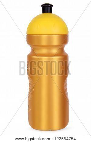 golg sports water bottle isolated on white background