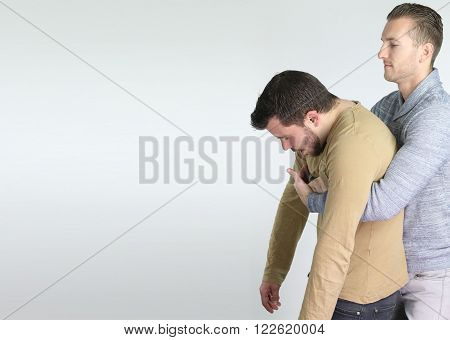 first aid gesture for someone who is choking