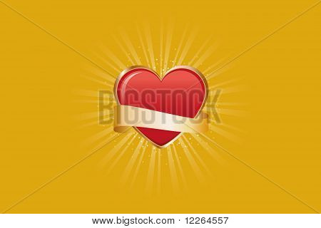 Heart Shape Gold